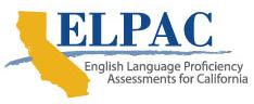 ELPAC Initial Assessment ToT