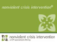 Nonviolent Crisis Intervention Certification