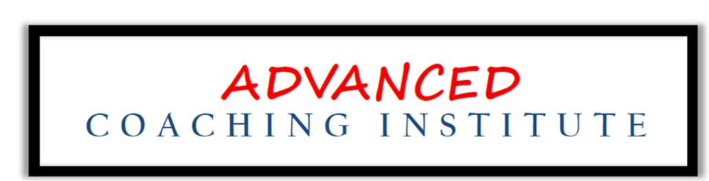 Advanced Coaching Institute